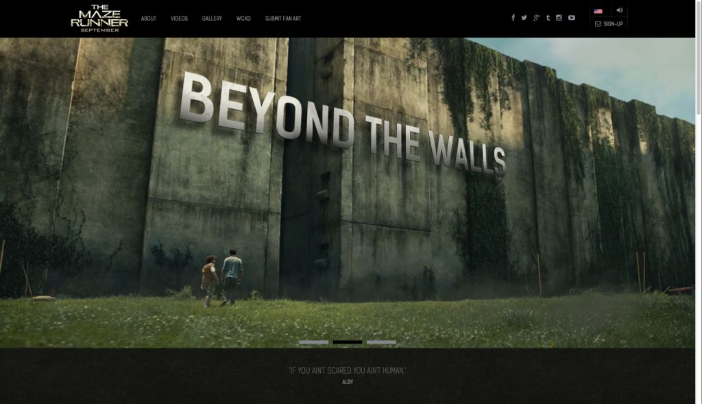 THE MAZE RUNNER MOVIE TUMBLR